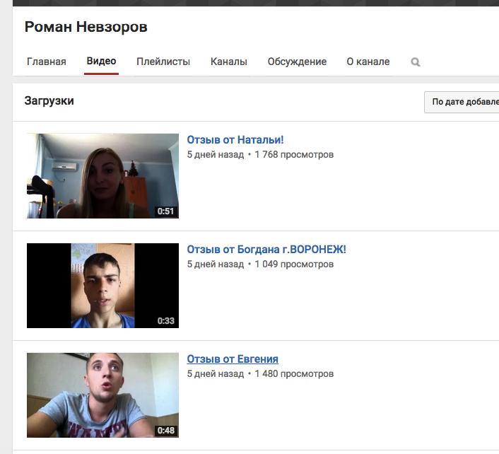 Анализируем Youtube канал